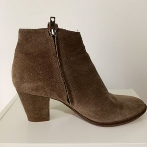 Madewell Billie Suede Leather Ankle Boots 6.5